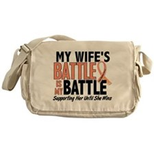 My Battle Too Uterine Cancer Messenger Bag