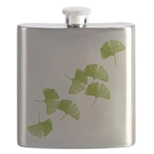 Ginkgo Leaves Flask