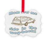 wayback.gif Picture Ornament