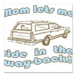 wayback.gif Square Car Magnet 3