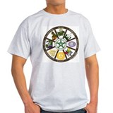 Wheel of the Year Ash Grey T-Shirt