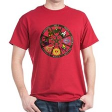 Wheel of the Year Black T-Shirt