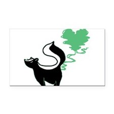love-stinks-skunk.png Rectangle Car Magnet