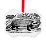 badger.png Picture Ornament