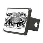 badger.png Rectangular Hitch Cover