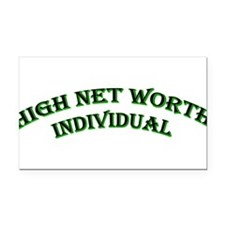 high_net_worth.png Rectangle Car Magnet