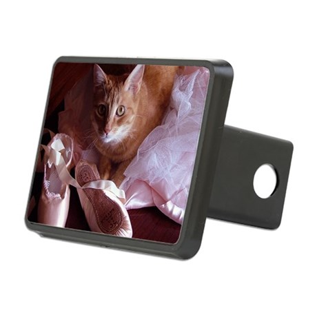 CAT-BALLET_TEE.png Rectangular Hitch Cover