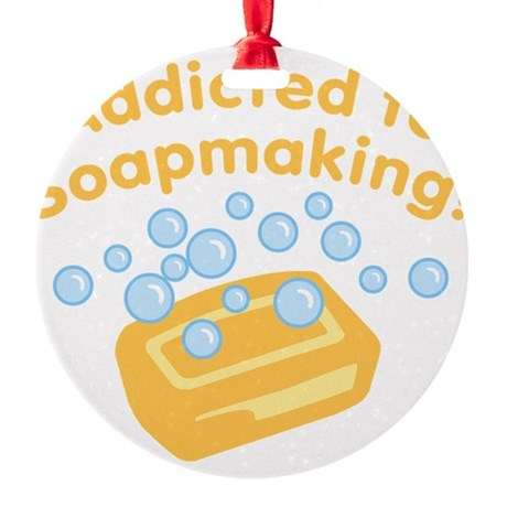 ad-to-soapmaking_tr.png Round Ornament