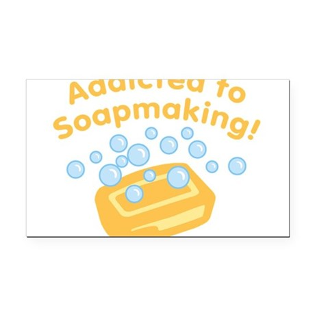 ad-to-soapmaking_tr.png Rectangle Car Magnet