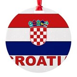 croatia_b.gif Round Ornament