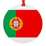 portuguese_flag.gif Round Ornament