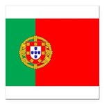 portuguese_flag.gif Square Car Magnet 3