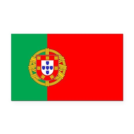 portuguese_flag.gif Rectangle Car Magnet