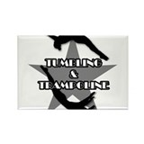 Tumbling and trampoline Rectangle Magnet (10 pack)