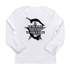 Tumbling and trampoline Long Sleeve Infant T-Shirt