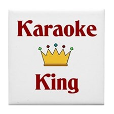 Karaoke King Tile Coaster