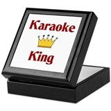 Karaoke King Keepsake Box