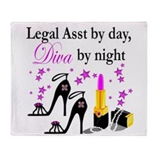 LEGAL ASSISTANT Throw Blanket