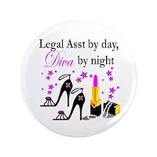 "LEGAL ASSISTANT 3.5"" Button (100 pack)"