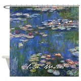 Claude Monet Water Lilies Shower Curtain