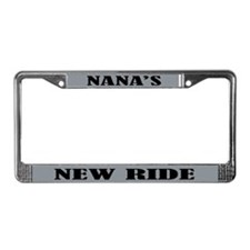 Nana's New Ride License Plate Frame