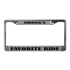 Nonnas Ride License Plate Frame