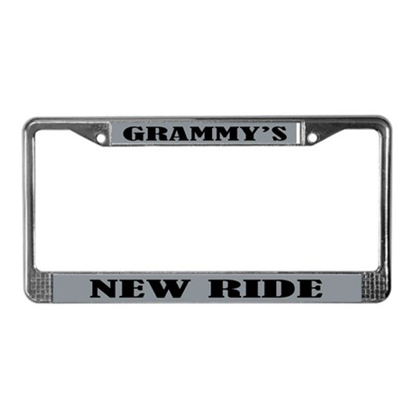 Grammys Ride License Plate Frame