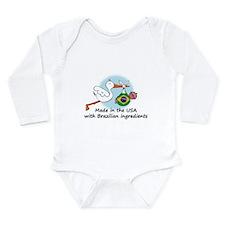 stork baby brazil 2 Body Suit