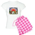 Farm Animals Women's Light Pajamas