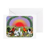 Farm Animals Greeting Cards (Pk of 10)