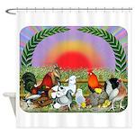 Farm Animals Shower Curtain