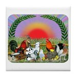 Farm Animals Tile Coaster