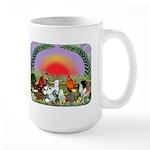 Farm Animals Large Mug