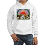 Farm Animals Hooded Sweatshirt
