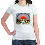 Farm Animals Jr. Ringer T-Shirt