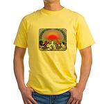 Farm Animals Yellow T-Shirt