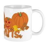 Halloween Pumpkin Chris Mug