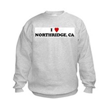 I Love NORTHRIDGE Sweatshirt