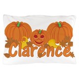 Halloween Pumpkin Clarence Pillow Case