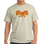 Halloween Pumpkin Cory Light T-Shirt