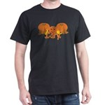 Halloween Pumpkin Cory Dark T-Shirt