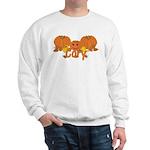 Halloween Pumpkin Cory Sweatshirt