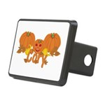 Halloween Pumpkin Cory Rectangular Hitch Cover