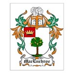 MacEnchroe Coat of Arms Small Poster