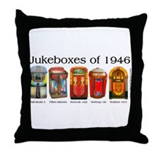 1946 Jukebox Collection Throw Pillow