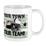 Helmet and Pigskin Mug
