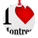 ilovemontreal.png Round Ornament