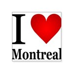 ilovemontreal.png Square Sticker 3