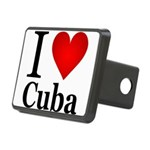 ilovecuba.png Rectangular Hitch Cover