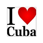 ilovecuba.png Square Sticker 3